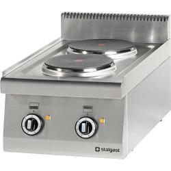 Kuchnia nastawna elektryczna 2 polowa 400x700 5,2 kW